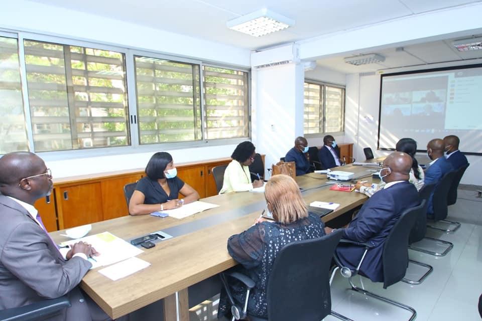 ECONOMIE: Visioconférence avec le Représentant Résident de l'Organisation des Nations Unies pour le Développement et l'Industrie en Côte d'Ivoire .
