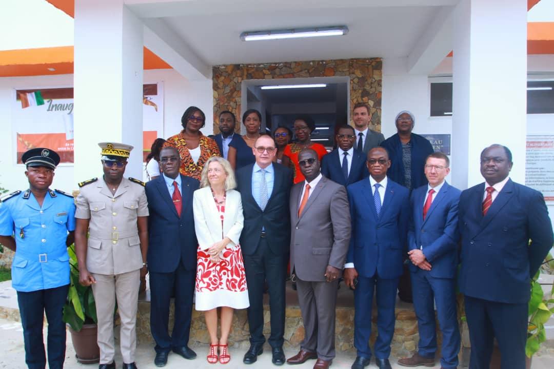 Inauguration de l'usine de transformation de fruits séchés, HPW Fresh and Dry Côte d'Ivoire à Assé, Bonoua.