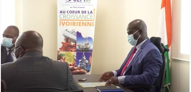 Audience accordée à une délégation du patronat et du Ministère guinéen de l'industrie